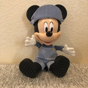 Vintage Talking Mickey Mouse Plush